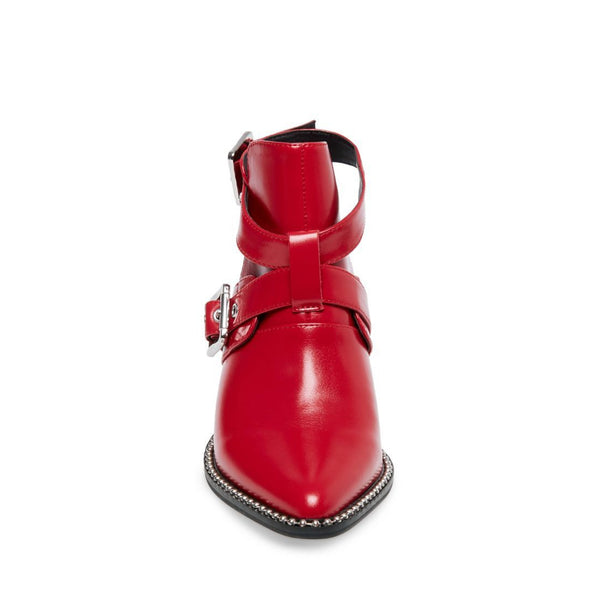 POWERED RED LEATHER - Steve Madden