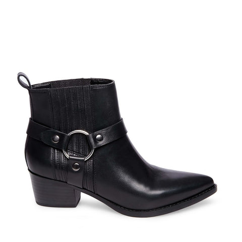 POWERFUL BLACK LEATHER - Steve Madden