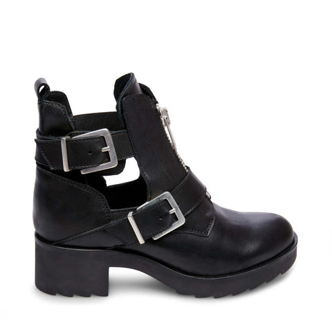 RAVISH BLACK LEATHER - Steve Madden