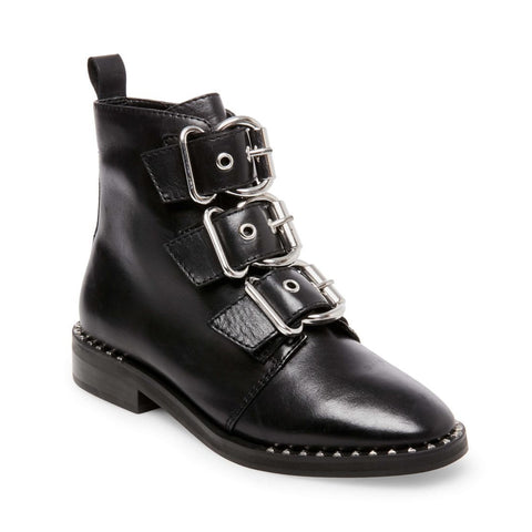 RECHARGE BLACK LEATHER - Steve Madden