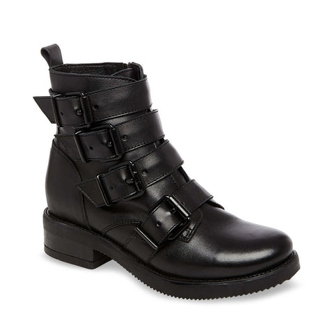 REFLEX BLACK LEATHER - Steve Madden
