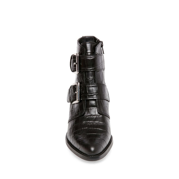 REYNOLD BLACK LEATHER - Steve Madden