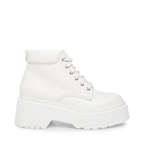SWOOP WHITE LEATHER