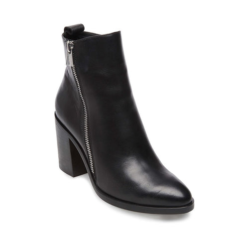 TASHA BLACK LEATHER - Steve Madden