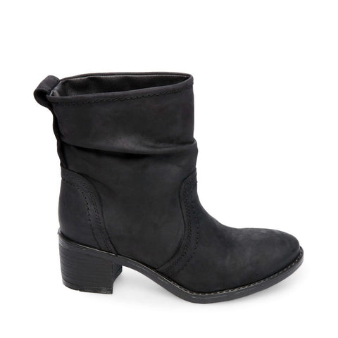 TRAVIS BLACK LEATHER - Steve Madden