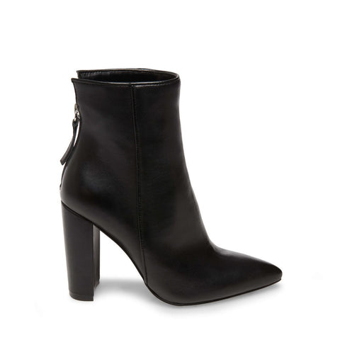 TRISTA BLACK LEATHER - Steve Madden