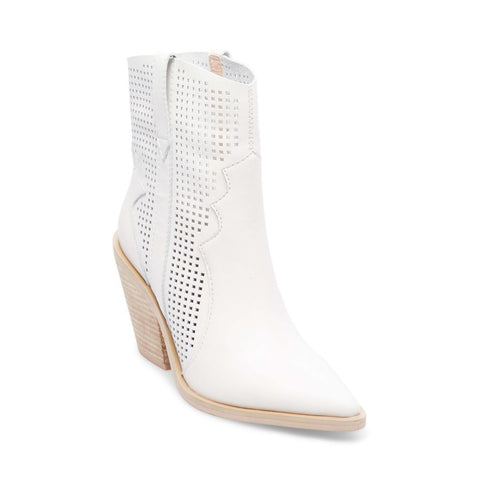 VIOLET WHITE LEATHER - Steve Madden