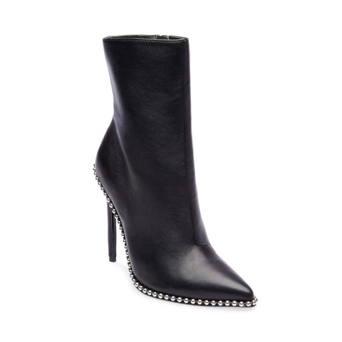 WORTHY BLACK LEATHER - Steve Madden