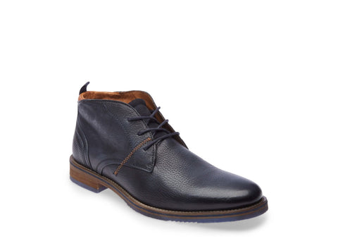 BATES NAVY LEATHER - Steve Madden