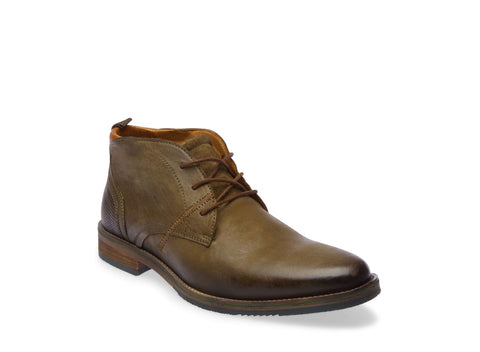 BATES OLIVE LEATHER - Steve Madden