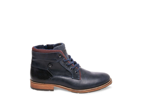 CANYON NAVY LEATHER - Steve Madden