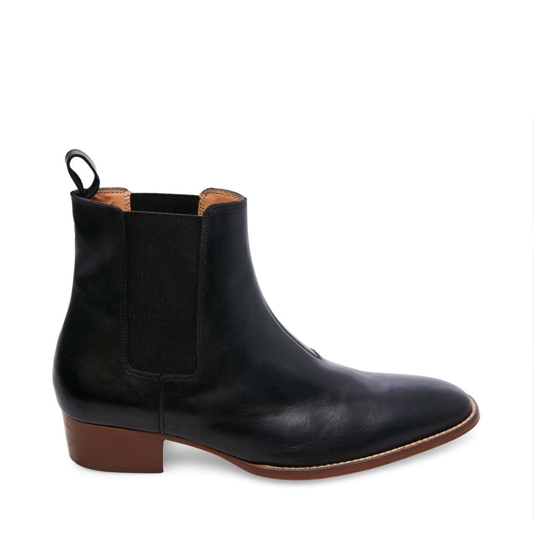 DEX BLACK LEATHER - Steve Madden