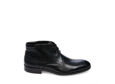 HASTINGS BLACK LEATHER - Steve Madden