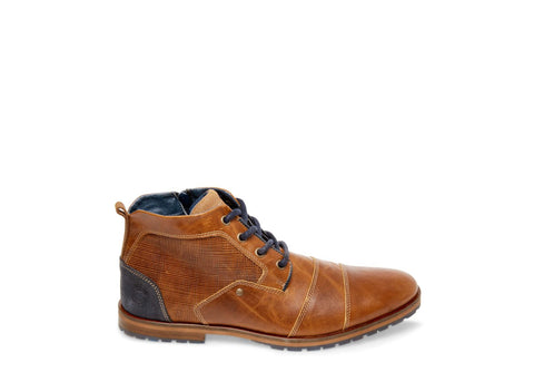 KAMI COGNAC LEATHER - Steve Madden