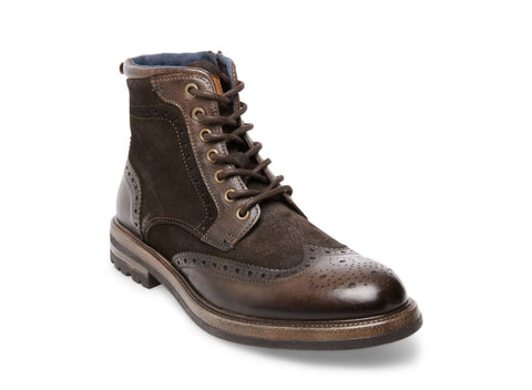 ROWAN BROWN LEATHER - Steve Madden