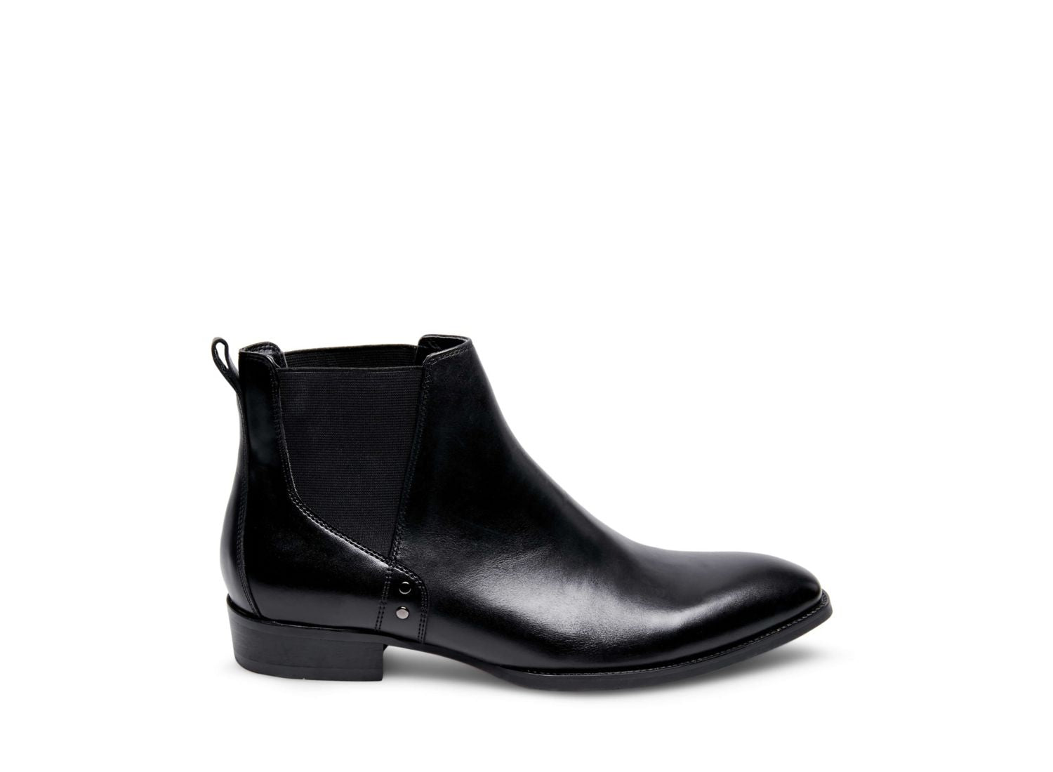 SIMON BLACK LEATHER - Steve Madden