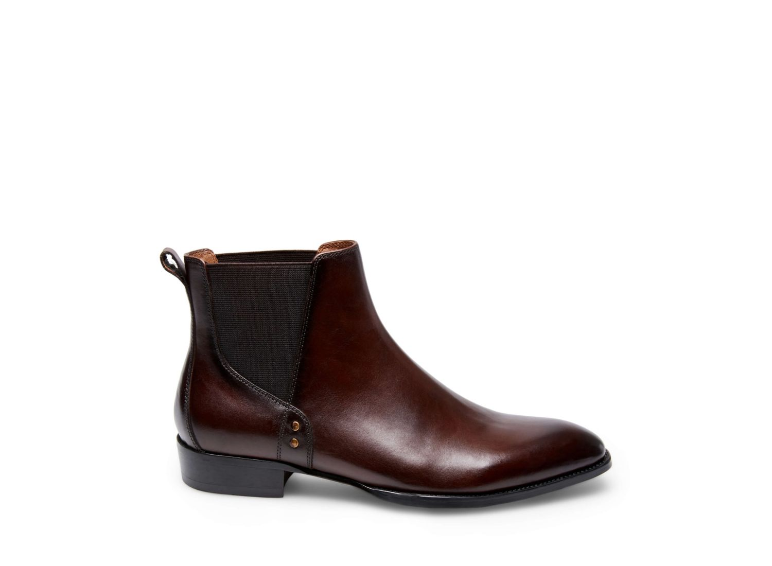 SIMON BROWN LEATHER - Steve Madden