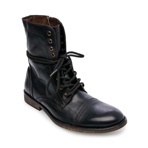 TREK BLACK LEATHER - Steve Madden