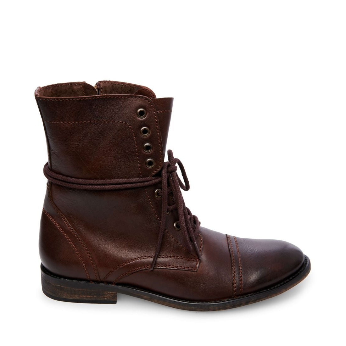 TREK BROWN LEATHER - Steve Madden