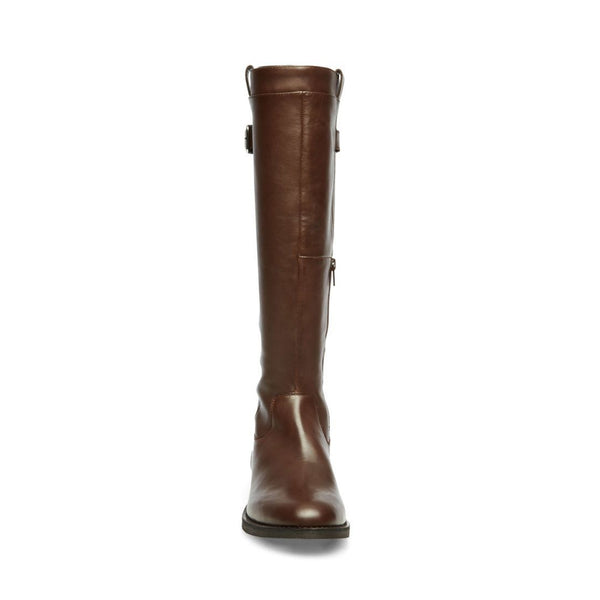 ANABELL BROWN LEATHER - Steve Madden