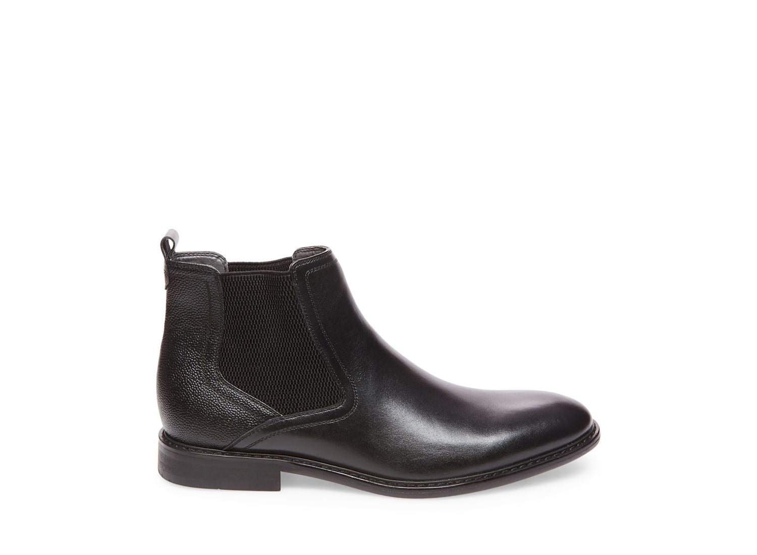 AZIZ BLACK LEATHER - Steve Madden