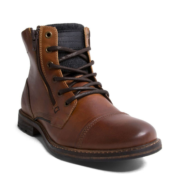BRIDGES2 COGNAC LEATHER - Steve Madden