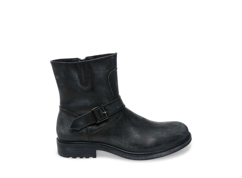 BUCKK BLACK LEATHER - Steve Madden