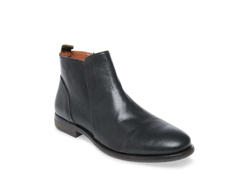CORTLAND BLACK LEATHER - Steve Madden