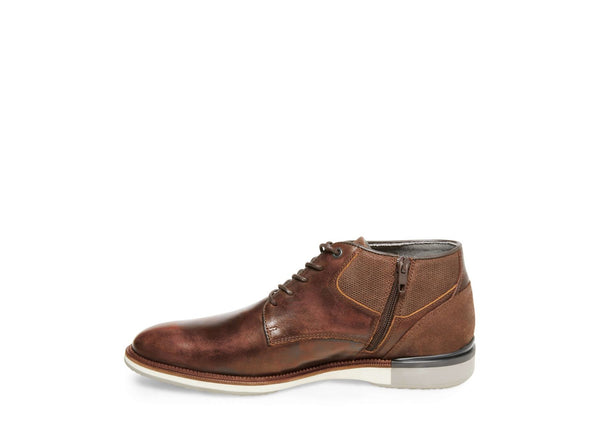 CURRANT BROWN LEATHER - Steve Madden
