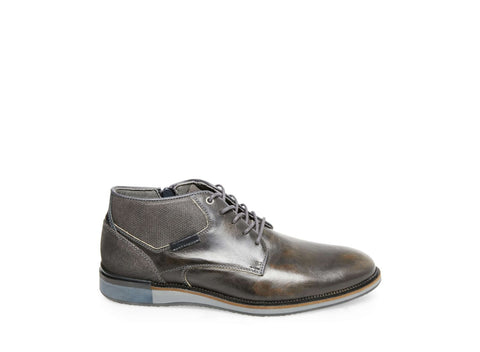CURRANT DARK GREY LEATHER - Steve Madden