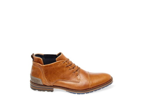 HEMLOCK COGNAC LEATHER - Steve Madden
