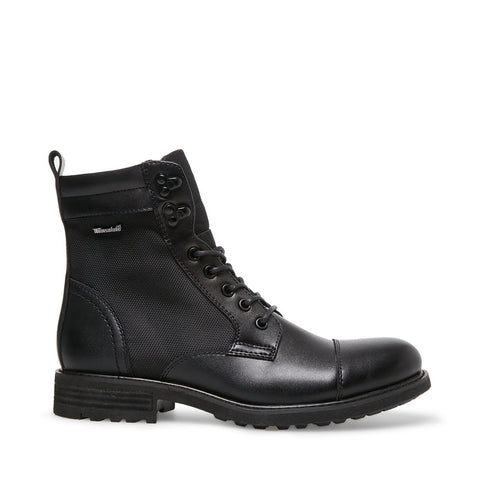 HUDSON BLACK LEATHER