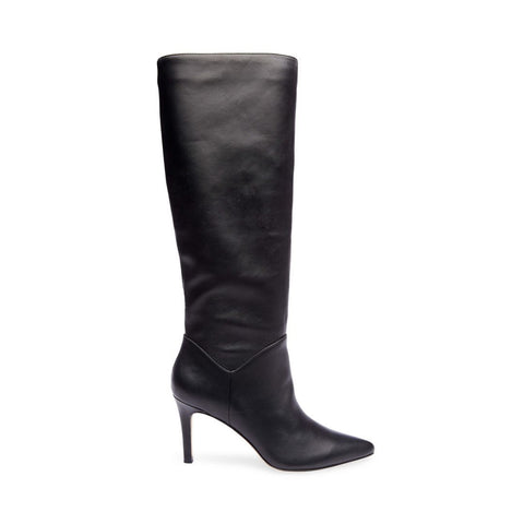 ebd024bcfc03 KINGA BLACK LEATHER - Steve Madden ...