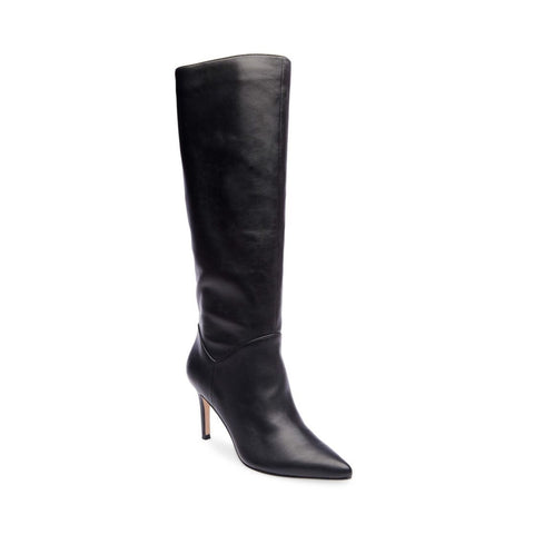 KINGA BLACK LEATHER - Steve Madden