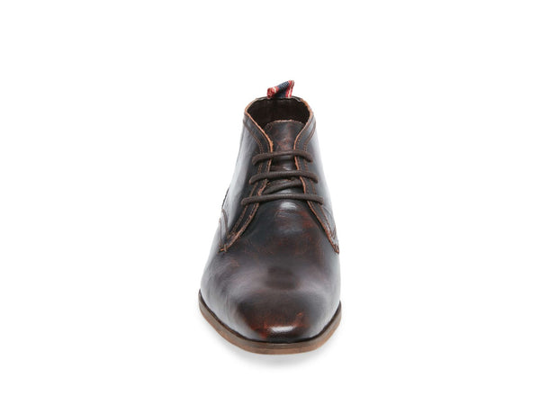 LINDEN BROWN LEATHER - Steve Madden