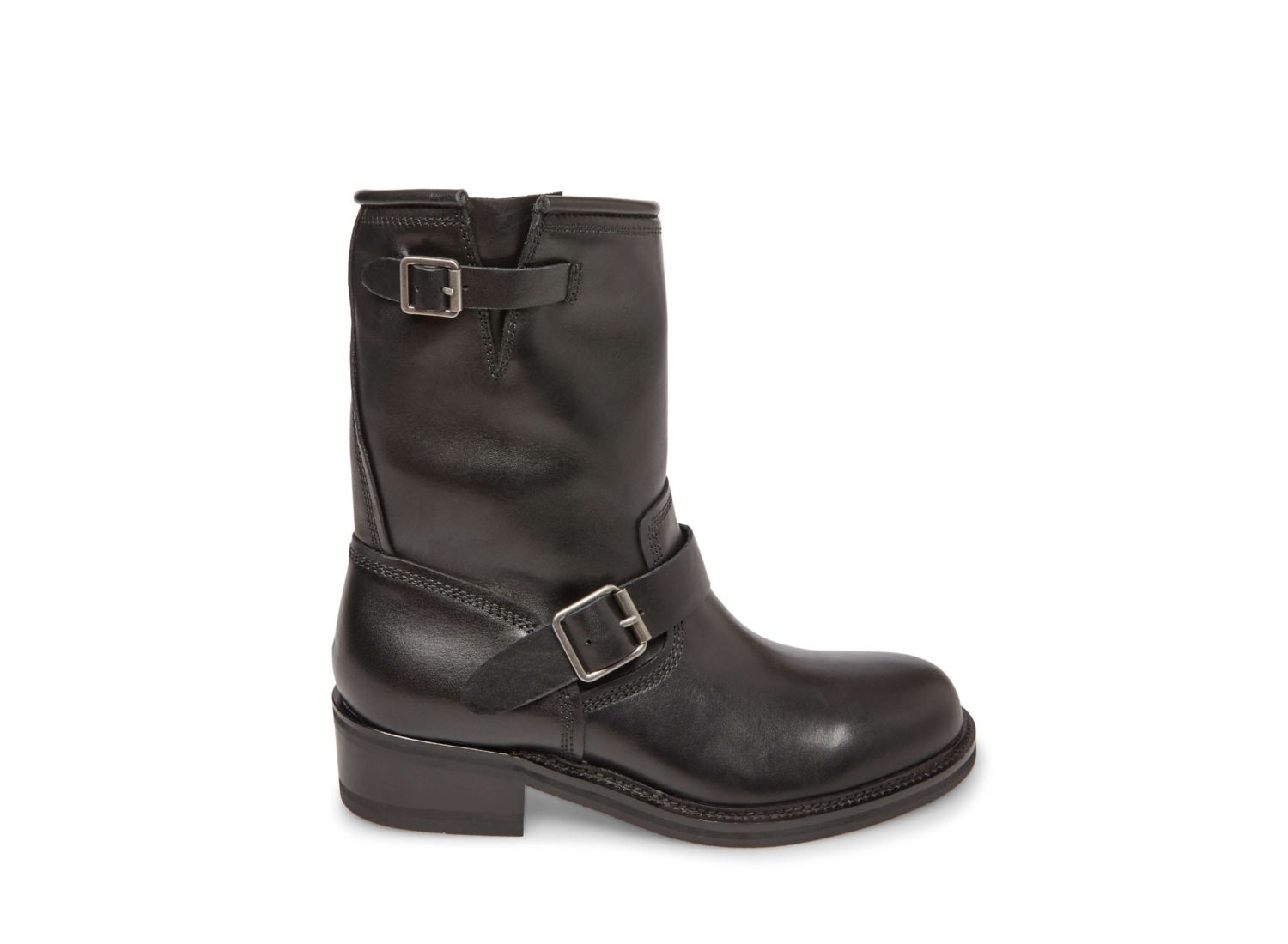 MADMAN BLACK LEATHER - Steve Madden