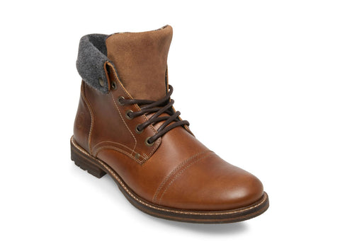 MAPLE COGNAC LEATHER - Steve Madden