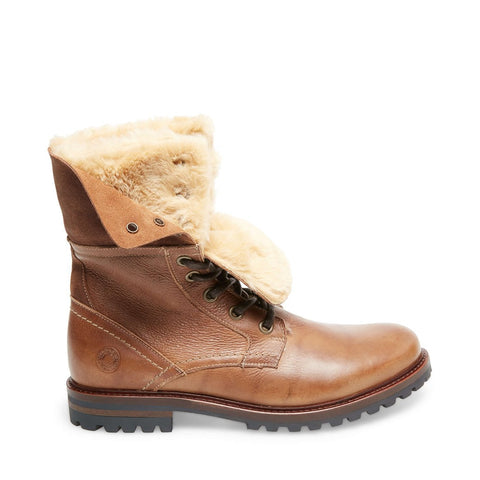 OLYMPUS TAN LEATHER - Steve Madden
