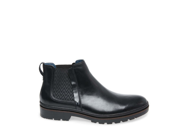 PIPPIN BLACK LEATHER - Steve Madden