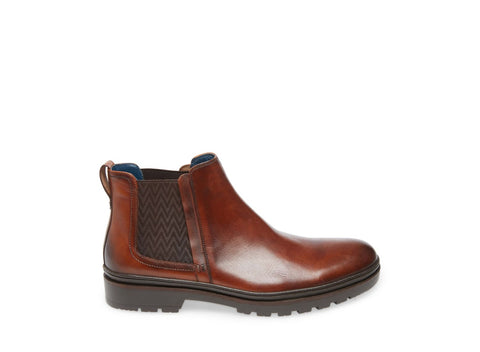 PIPPIN COGNAC LEATHER - Steve Madden