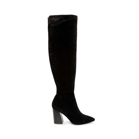 SERVE BLACK SUEDE - Steve Madden