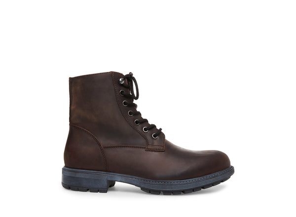 SMOKY BROWN LEATHER - Steve Madden