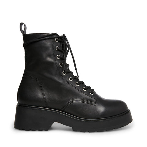 TORNADO BLACK LEATHER - Steve Madden