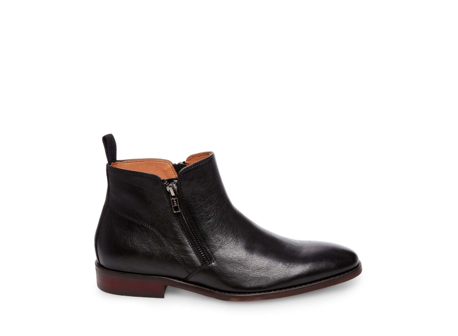 ALONZO BLACK LEATHER - Steve Madden