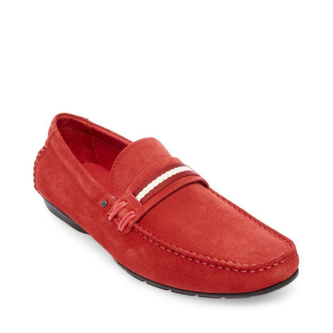 GRAB RED SUEDE - Steve Madden