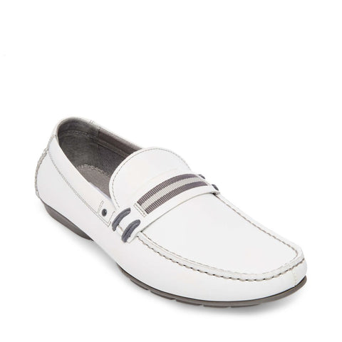 GRAB WHITE LEATHER - Steve Madden