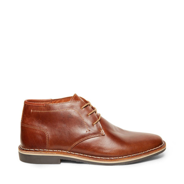 HARKEN COGNAC LEATHER - Steve Madden