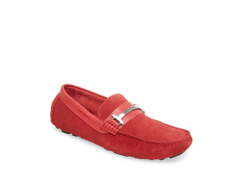 HARWICH RED SUEDE - Steve Madden