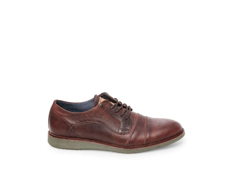 PINE BROWN/RED LEATHER - Steve Madden