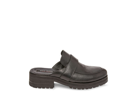 REBELL BLACK LEATHER - Steve Madden